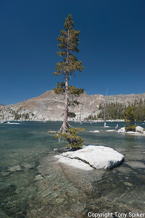 """Lake Aloha 1"" - Photograph of Lake Aloha, located in Desolation Wilderness near the South Shore of Lake Tahoe"