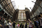 Open House at Battersea Power Station in London, before a massive development project starts.