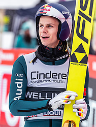 17.03.2019, Vikersundbakken, Vikersund, NOR, FIS Weltcup Skisprung, Raw Air, Vikersund, Einzelbewerb, Herren, im Bild Andreas Wellinger (GER) // Andreas Wellinger of Germany during the individual competition of the 4th Stage of the Raw Air Series of FIS Ski Jumping World Cup at the Vikersundbakken in Vikersund, Norway on 2019/03/17. EXPA Pictures © 2019, PhotoCredit: EXPA/ JFK