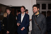 HENRY HUDSON; CONRAD SHAWCROSS, Hominidae- Henry Hudson private view. TJ Boulting. Riding House St. London. 20 November 2012.
