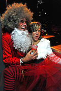 Santa Rampage in Austin Texas, December 13, 2008.  Santa Rampage is an annual mass gathering of people in Santa Claus costumes on the streets and bars of Austin.