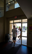 Move in day for students in university housing. Fall semester 2015