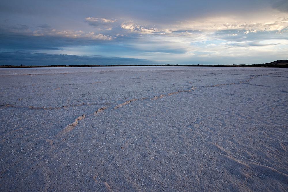 Salt lake, Kangaroo Island