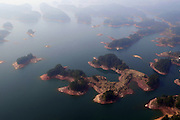 HANGZHOU, March 15, 2016 (Xinhua) -- <br /> <br /> aerial view of the Qiandao Lake, or Thousand-Island Lake, in Chun'an County of Hangzhou, east China's Zhejiang Province. With 1,078 islands scattered across the lake, Qiandao Lake is a famous spot for sightseeing in China. <br /> &copy;Exclusivepix Media
