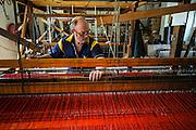 Kilcar, one of the last traditional tweed weavers.
