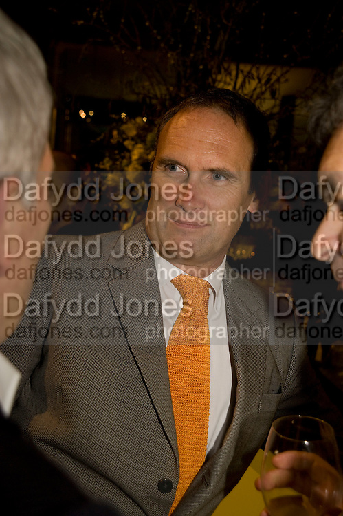 A.A. GILL, Orion Publishing Group Author Party. V & A. London. 18 February 2009.  *** Local Caption *** -DO NOT ARCHIVE -Copyright Photograph by Dafydd Jones. 248 Clapham Rd. London SW9 0PZ. Tel 0207 820 0771. www.dafjones.com<br /> A.A. GILL, Orion Publishing Group Author Party. V & A. London. 18 February 2009.