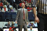 Mississippi head coach Andy Kennedy vs. Vanderbilt game in Oxford, Miss. on Saturday, March 8, 2014. (AP Photo/Oxford Eagle, Bruce Newman)