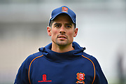 Alastair Cook of Essex before the first day of the Specsavers County Champ Div 1 match between Hampshire County Cricket Club and Essex County Cricket Club at the Ageas Bowl, Southampton, United Kingdom on 5 April 2019.