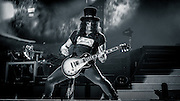 """Slash performs during the Guns N' Roses """"Not In This Lifetime tour."""" Photo by John Lill"""