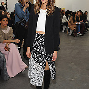 NEW YORK, NY - FEBRUARY 13:  Actress Jamie Chung attends the Tanya Taylor fashion show at Industria Studios during Mercedes-Benz Fashion Week on February 13, 2015 in New York City.  (Photo by Fernando Leon/Getty Images) *** Local Caption *** Jamie Chung