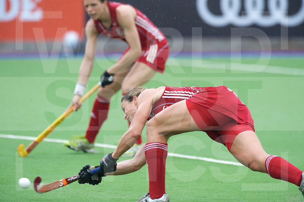 ROSARIO - Champions Trophy women.China v Great Britain.foto: Christa Cullen Scores 0-1.penaltycorner..FFU Press Agency  COPYRIGHT FRANK UIJLENBROEK..