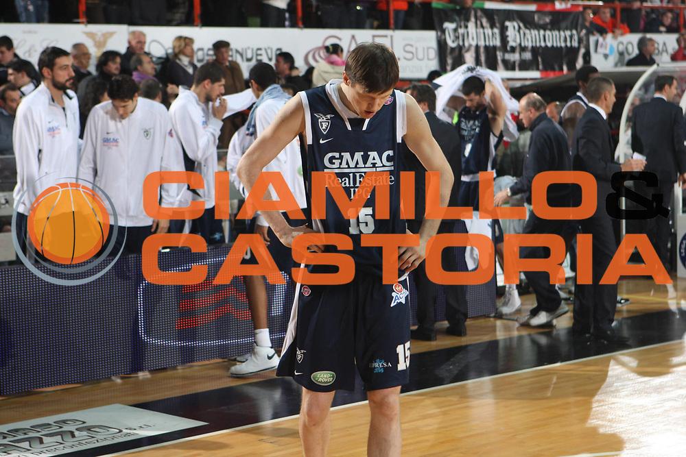 DESCRIZIONE : Caserta Lega A1 2008-09 Eldo Caserta GMAC Fortitudo Bologna<br /> GIOCATORE : Gregor Fucka<br /> SQUADRA : GMAC Fortitudo Bologna<br /> EVENTO : Campionato Lega A1 2008-2009 <br /> GARA : Eldo Caserta GMAC Fortitudo Bologna<br /> DATA : 10/01/2009<br /> CATEGORIA : delusione<br /> SPORT : Pallacanestro <br /> AUTORE : Agenzia Ciamillo-Castoria/G.Ciamillo