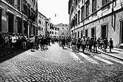 Tourists in Rome on May 11, 2018. Christian Mantuano / OneShot