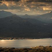 Blackwater Reservoir, Lochaber. The longest dam in the Highlands.