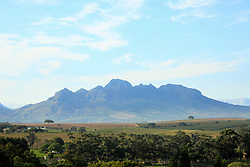 Dec. 04, 2012 - Hottentot mountains near stellenbosch, south africa (Credit Image: © Image Source/ZUMAPRESS.com)