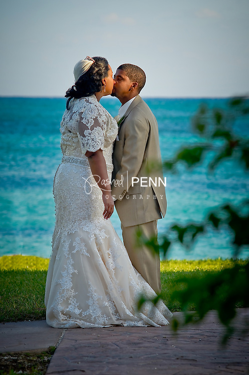 Vonneta and David Wedding at the Grand Lucayan Hotel Freeport Grand Bahama