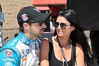 James Hinchcliffe, Auto Club Speedway, Fontana, CA USA 8/30/2014