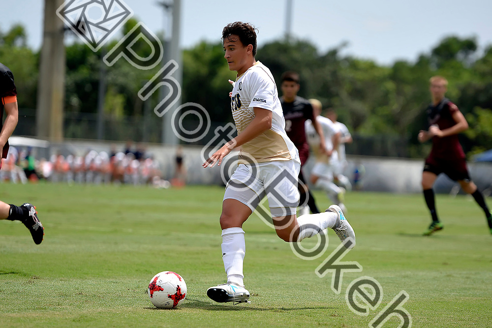 2017 September 03 - FIU's Alessandro Campoy (10). FIU Men's Soccer defeated Charlotte, 3-2, at FIU Soccer Complex, Miami, Florida. (Photo by: Alex J. Hernandez / photobokeh.com) This image is copyright by PhotoBokeh.com and may not be reproduced or retransmitted without express written consent of PhotoBokeh.com. ©2017 PhotoBokeh.com - All Rights Reserved