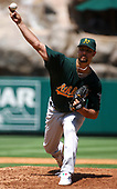 Aug 2, 2006-MLB-Oakland Athletics at Los Angeles Angels