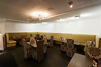 Interior of empty restaurant