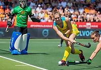 AMSTELVEEN - Georgina Morgan (Austr.) tijdens    de Pro League hockeywedstrijd dames, Nederland-Australie (3-1) COPYRIGHT  KOEN SUYK