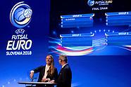 Final Draw UEFA Futsal EURO 2018 - 29 Sept 2017
