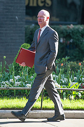 © Licensed to London News Pictures. 08/04/2014. London, UK David Willetts , Minister of State for Universities and Science, arrives at the Cabinet Meeting 8th April 2014. Photo credit : Stephen Simpson/LNP