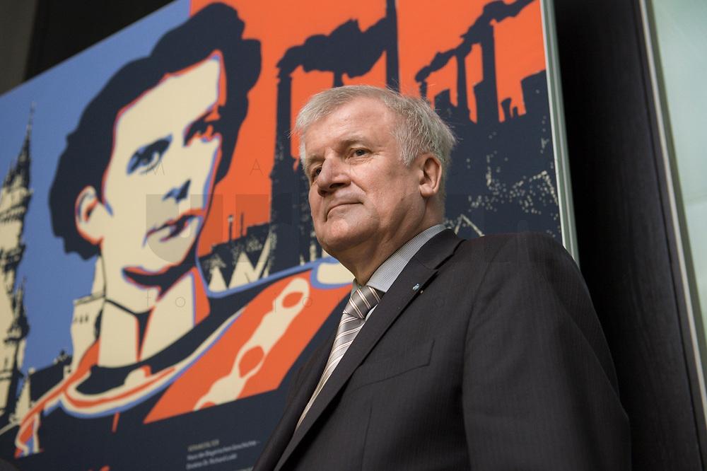 """11 MAY 2012, BERLIN/GERMANY:<br /> Horst Seehofer, CSU, Ministerpraeisdent Bayern, eroeffnet die Ausstellung """"Goetterdaemmerung - Koenig Ludwig II. und seine Zeit"""", Bundesrat<br /> IMAGE: 20120511-02-012"""