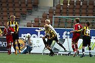 12.07.2008. Finnair Stadium, Helsinki..Helsinki Cup 2008.D-13 loppuottelu, Honka - Skonto Riga.©Juha Tamminen