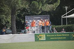 Van Grunsven Demi (NED) - San Serai<br /> FEI European Jumping Championship for juniors <br /> Arezzo 2014<br /> © Hippo Foto - Stefano Secchi