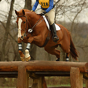 Lucia Strini and Liste de Folie at the Morven Park Spring Horse Trials held in Leesburg, Virginia