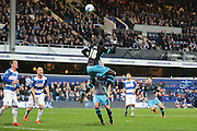 Sheffield Wednesday striker Lucas Joao during the Sky Bet Championship match between Queens Park Rangers and Sheffield Wednesday at the Loftus Road Stadium, London, England on 20 October 2015. Photo by Jemma Phillips.