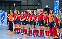ROTTERDAM  - NK Zaalhockey,   halve finale dames Laren-Den Bosch. Laren wint  COPYRIGHT KOEN SUYK