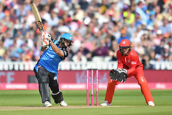 Worcestershire Rapid's Ross Whiteley bats during the Vitality T20 Blast Semi Final match on Finals Day at Edgbaston, Birmingham.