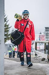 28.12.2018, Schattenbergschanze, Oberstdorf, GER, FIS Weltcup Skisprung, Vierschanzentournee, Oberstdorf, Training, im Bild Philipp Aschenwald (AUT) // Philipp Aschenwald of Austria during his Practice Jump for the Four Hills Tournament of FIS Ski Jumping World Cup at the Schattenbergschanze in Oberstdorf, Germany on 2018/12/28. EXPA Pictures © 2018, PhotoCredit: EXPA/ JFK