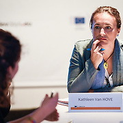 20160616 - Brussels , Belgium - 2016 June 16th - European Development Days - How can Aid for Trade contribute to implementing the Sustainable Development Goals? - Kathleen Van Hove , Senior Policy Officer in the Economic Transformation and Trade Programme , European Centre for Development Policy Management - Moderator © European Union