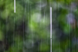 The Effect of Shutter Speed on Falling Rain Set 3-#3