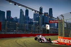 September 15, 2018 - Singapore, Singapore - Motorsports: FIA Formula One World Championship 2018, Grand Prix of Singapore, .#11 Sergio Perez (MEX, Racing Point Force India F1 Team) (Credit Image: © Hoch Zwei via ZUMA Wire)