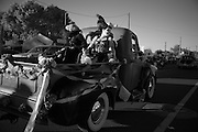The Dia de los Muertos parade in Albuquerque also known as the marigold parade 2009.