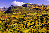 Mountainous landscape, North Gondar, Ethiopia.