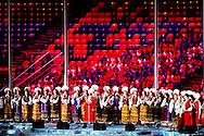 De sluitingsceremonie van de Olympische Spelen in Sotsji is zondagmiddag om 17.15 uur Nederlandse tijd begonnen. Met het spektakel in het olympisch stadion worden de Spelen beëindigd die op 7 februari van start gingen en zal de olympische vlam worden gedoofd.
