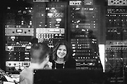 Rosanne Cash recording at Flora Recording in Portland, Oregon, November 2017. photo by Jason Quigley.
