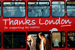 UK ENGLAND LONDON 13MAR07 - Double decker bus in the Sloane Square area, a wealthy part of west London.. . jre/Photo by Jiri Rezac. . © Jiri Rezac 2007. . Contact: +44 (0) 7050 110 417. Mobile:  +44 (0) 7801 337 683. Office:  +44 (0) 20 8968 9635. . Email:   jiri@jirirezac.com. Web:    www.jirirezac.com. . © All images Jiri Rezac 2007 - All rights reserved.