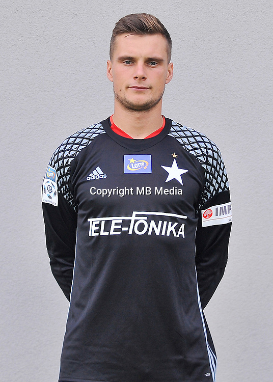 2016.08.03 Myslenice <br /> Pilka nozna Lotto Ekstraklasa sezon 2016/2017<br /> Sesja zdjeciowa Wisla Krakow <br /> N/z Michal Buchalik<br /> Foto Rafal Rusek / PressFocus<br /> <br /> 2016.08.03 Myslenice <br /> Football Polish Lotto Ekstraklasa season 2016/2017<br /> Sesja zdjeciowa Wisla Krakow <br /> Michal Buchalik<br /> Credit: Rafal Rusek / PressFocus