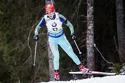 Olga Abramova (UKR) competes during Women 10 km Pursuit at day 3 of IBU Biathlon World Cup 2015/16 Pokljuka, on December 19, 2015 in Rudno polje, Pokljuka, Slovenia. Photo by Ziga Zupan / Sportida