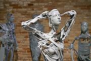 "55th Art Biennale in Venice - The Encyclopedic Palace (Il Palazzo Enciclopedico).<br /> Arsenale.<br /> Pawel Althamer (Poland). ""Venetians"", 2013."