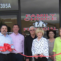 PAUL FULLERTON/BUY AT PHOTOS.MONROECOUNTYJOURNAL.COM<br /> A ribbon cutting was held for Family Choice Financial in Amory, which is located at 60395 Cotton Gin Port Rd.