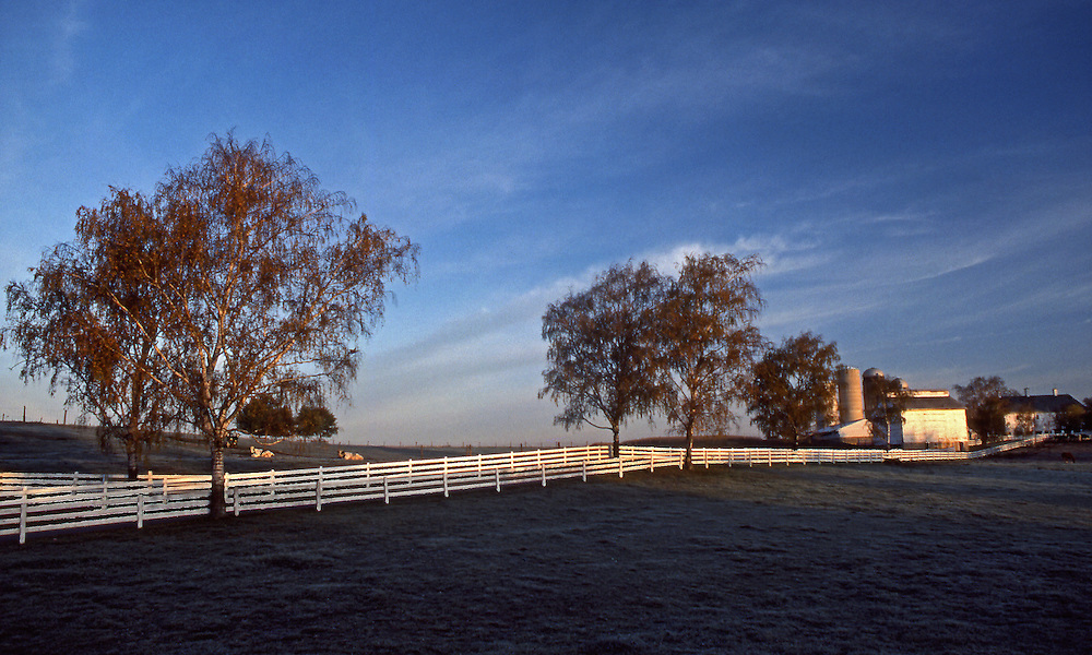 Lancaster County, PA. farm landscape