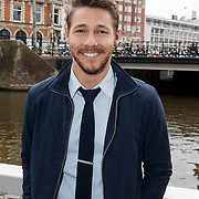 NLD/Amsterdam/20141002 - Persmiddag castleden The Bold & Te Beautfull, Scott Clifton