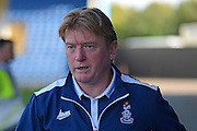 Bradford City Manager Stuart McCall during the EFL Sky Bet League 1 match between Oxford United and Bradford City at the Kassam Stadium, Oxford, England on 15 October 2016. Photo by Alan Franklin.
